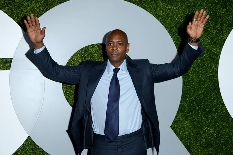 Dave Chappelle 2014 GQ Men Of The Year Party - Carpet