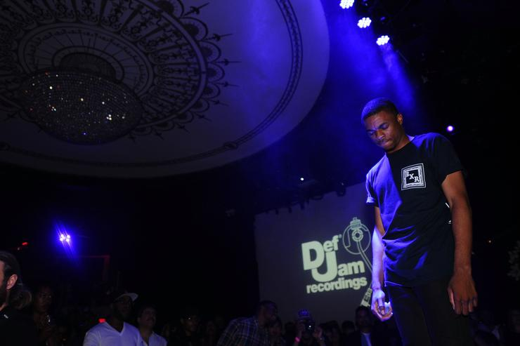 Vince Staples Def Jam Upfronts 2015 Showcase Powered By Samsung Milk Music & Milk Video