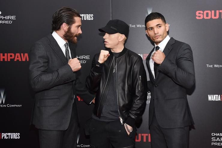 Eminem 'Southpaw' New York Premiere - For THE WRAP