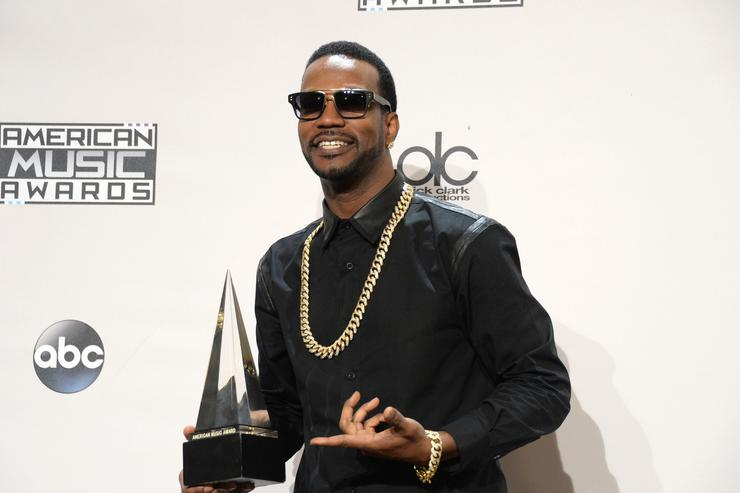 Juicy J 2014 American Music Awards - Press Room