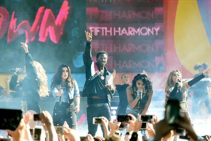 "Gucci Mane & Fifth Harmony Perform ""Down"" On Good Morning America"