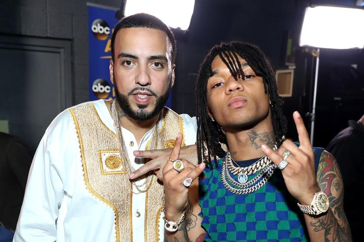 French Montana & Swae Lee at 2017 BET Awards