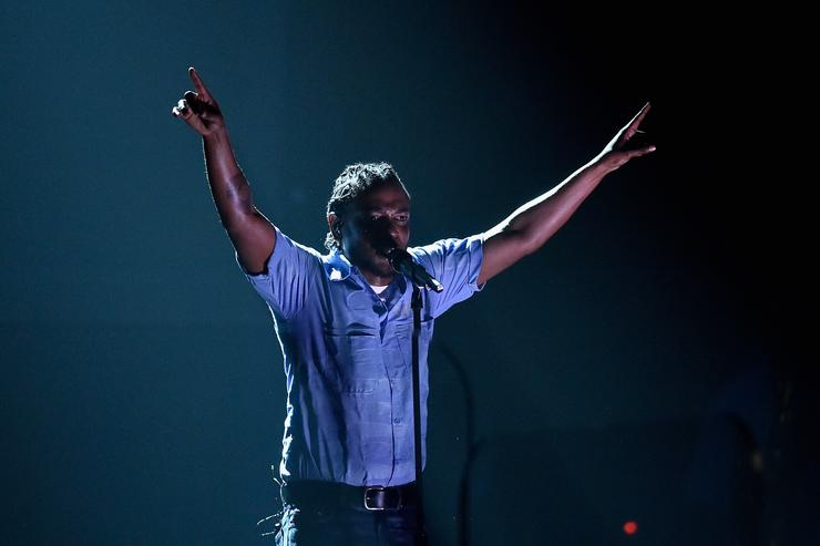 Kendrick Lamar The 58th GRAMMY Awards - Show