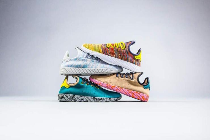 Sales Adidas Mens And Womens Pharrell Williams NMD Human Race
