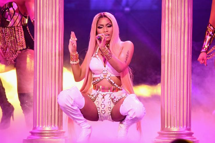 Nicki Minaj NBA Awards 2017