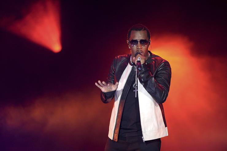 Diddy Escape To Total Rewards At Gotham Hall, New York