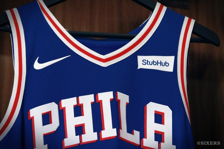 "Sixers 2017 ""Icon"" jersey"