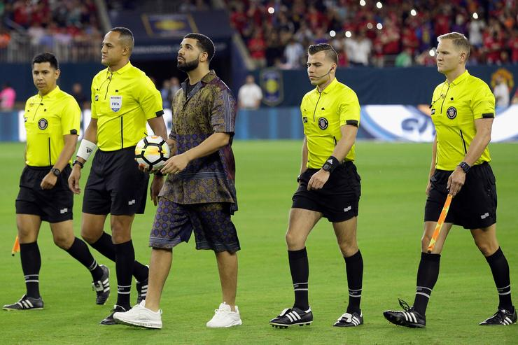 Drake International Champions Cup 2017 - Manchester United v Manchester City