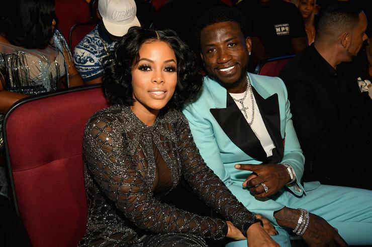 Gucci Mane & Keyshia Ka'oir at 2017 BET Awards