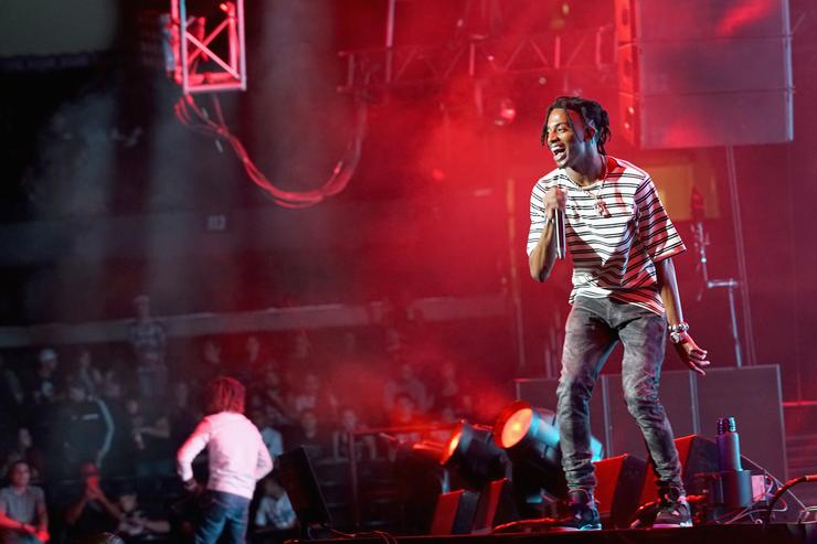 Playboi Carti 2017 BET Experience STAPLES Center -Concert Sponsored by Hulu - Night 1