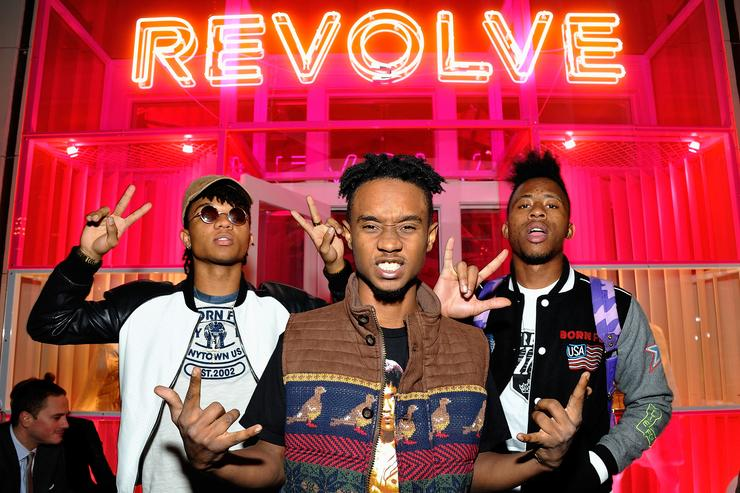 Rae Sremmurd REVOLVE Pop-Up Launch Party