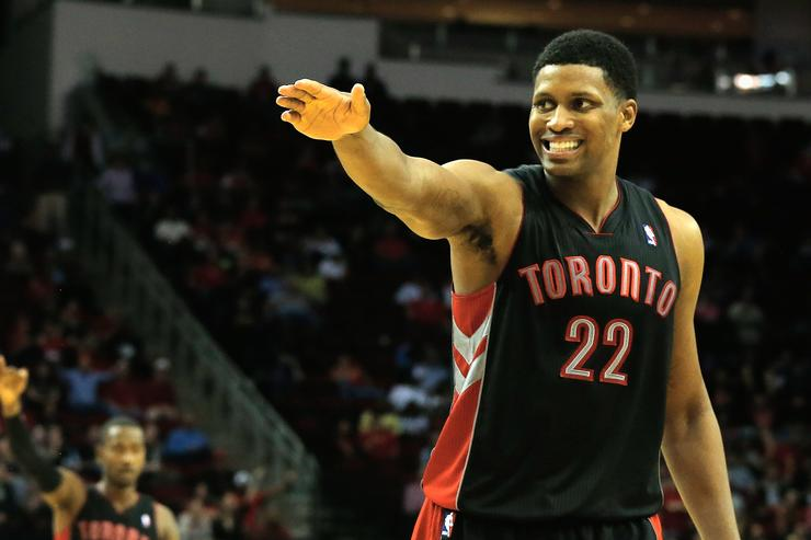 Rudy Gay Toronto Raptors v Houston Rockets
