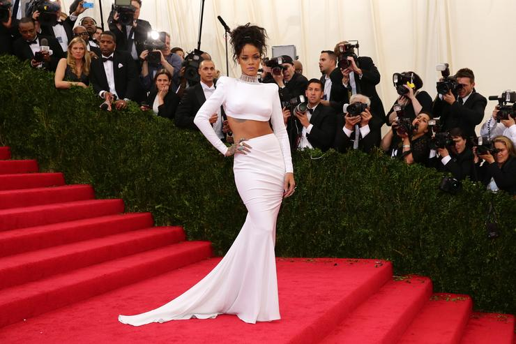 Rihanna 'Charles James: Beyond Fashion' Costume Institute Gala - Candids