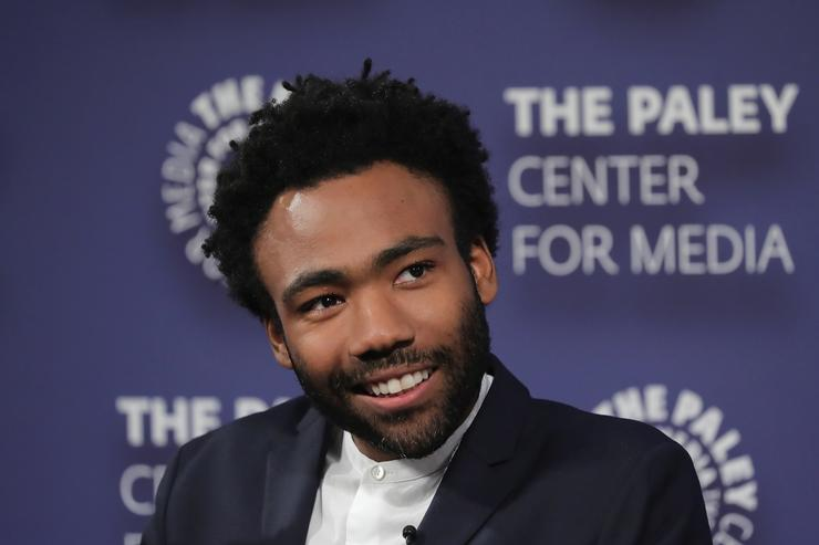 "Donald Glover at screening of ""Atlanta"""