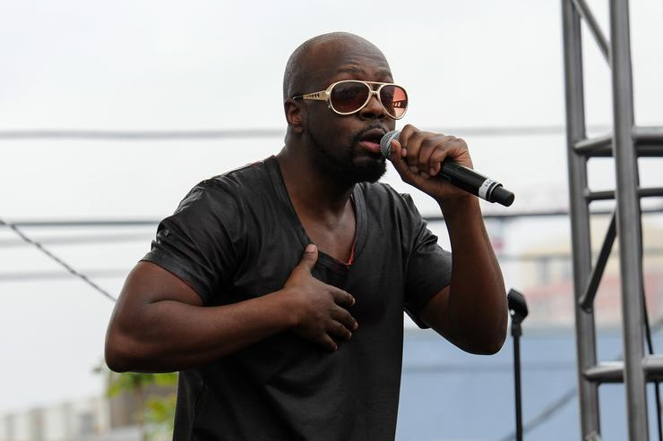 Wyclef Jean Performs At The Spotify House