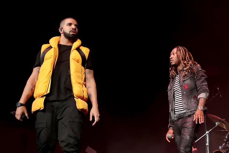 Drake & Future at 2017 Coachella