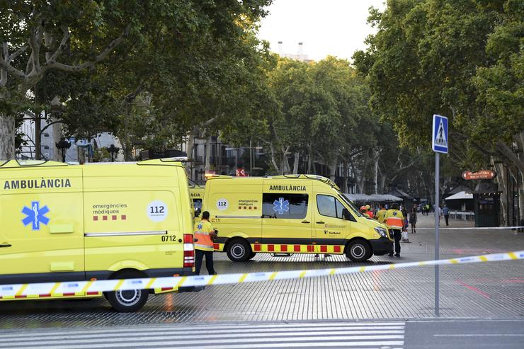 Ambulances in Barcelona