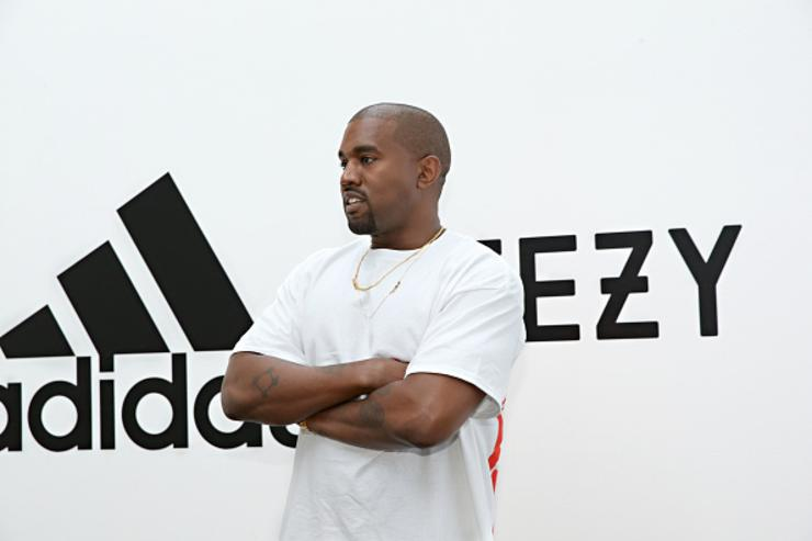 Kanye West Spotted In New Adidas Yeezy Calabasas Powerphase Colorway aa417bad0