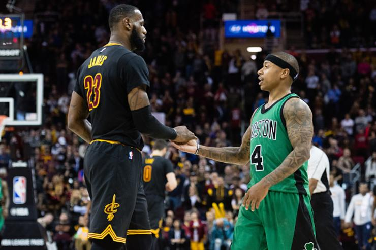 LeBron James x Isaiah Thomas