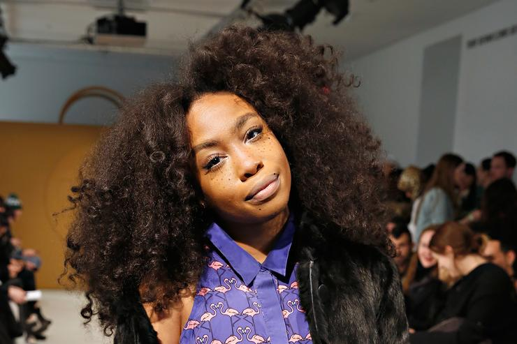 SZA at 2014 Fashion Week