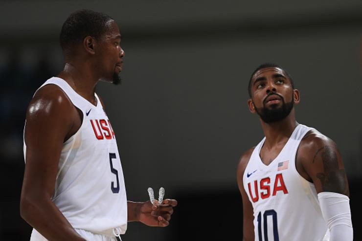 Kevin Durant x Kyrie Irving