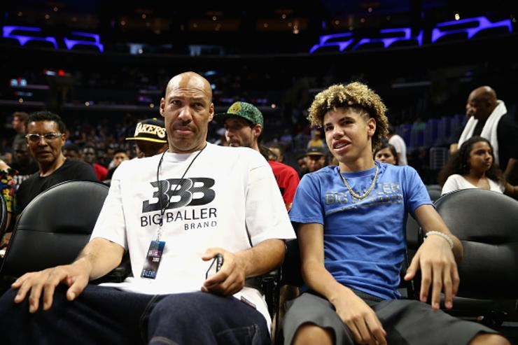 LaVar Ball x LaMelo Ball