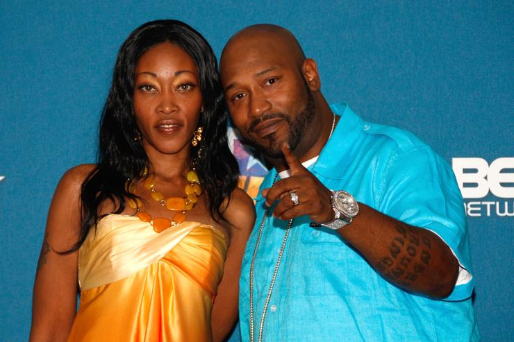 Bun B & Pimp C's wife Chinara at 2008 BET Awards