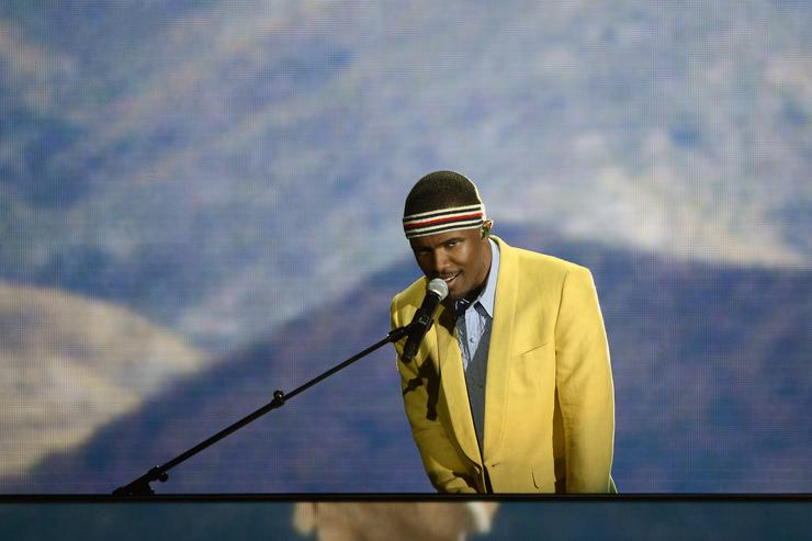Frank Ocean at The Grammys