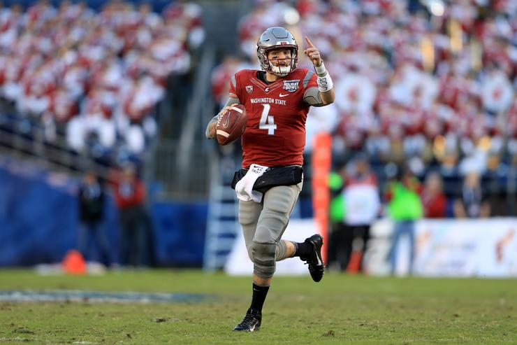 Luke Falk 2017 College Football