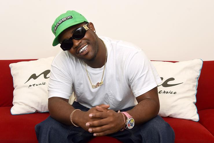 ASAP Ferg at Music Choice offices