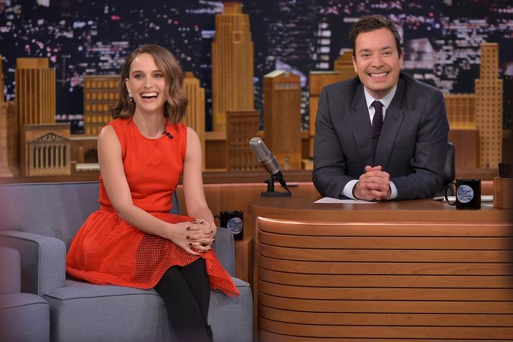 Natalie Portman Visits 'The Tonight Show Starring Jimmy Fallon'