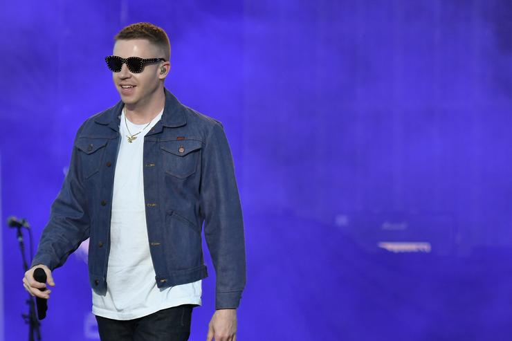 Mackelmore At 2017 March Madness Music Festival