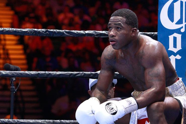 Adrien Broner loses cool, shoves female companion and knocks out a guy