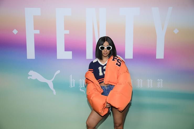 FENTY PUMA by Rihanna Spring/Summer 2018 Collection - Front Row + Arrivals