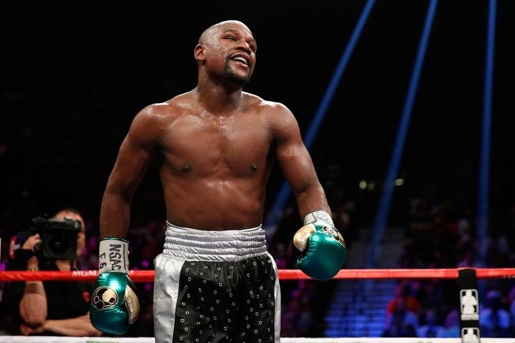 Floyd Mayweather Has Seven Girlfriends Because For Him One Isn't Enough