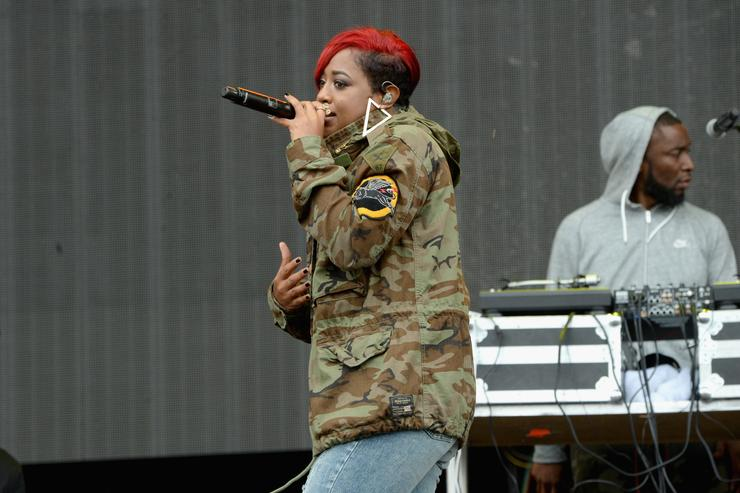 Rapsody performs at 2017 Made In America Festival