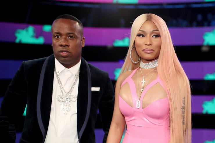 Yo Gotti & Nicki Minaj at MTV Music Awards