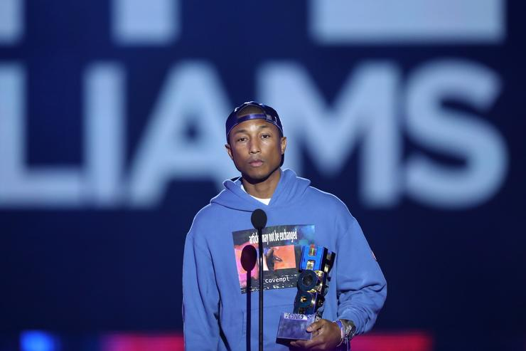 Pharrell at VH1 Hip Hop Honors Event
