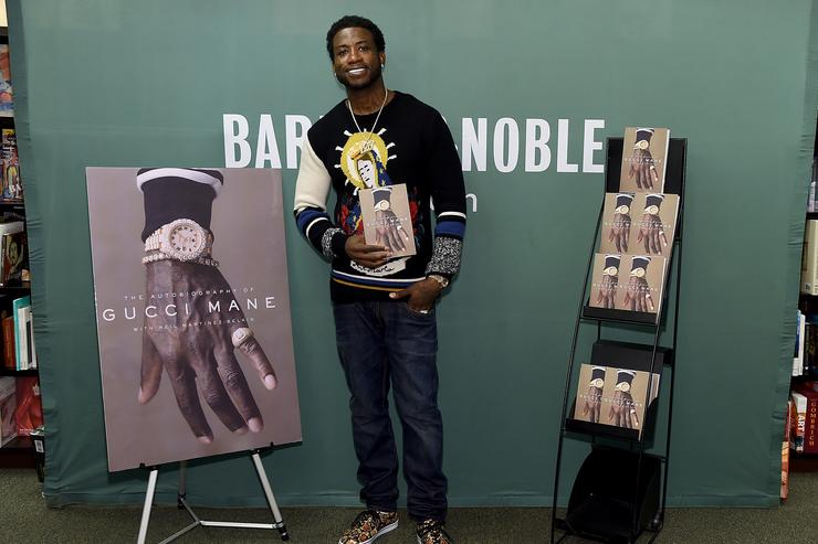 Gucci Mane at Barnes & Nobles NYC for book signing