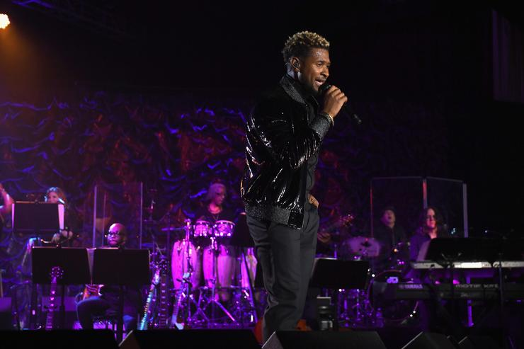 Usher : The man who is accused of having exposed to herpes balance…