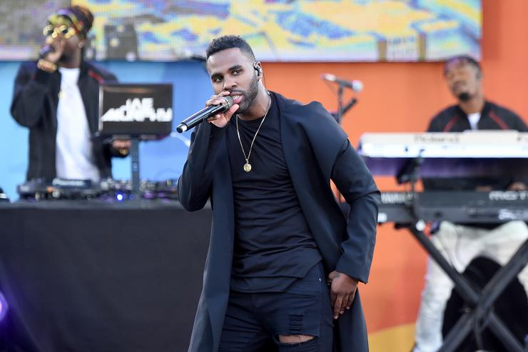 Jason Derulo Performs On ABC's 'Good Morning America'