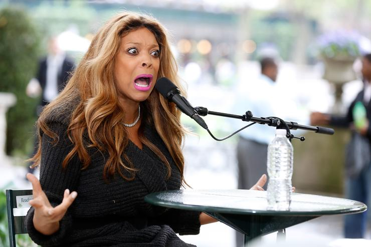Wendy Williams more anxious about négligée than her husband