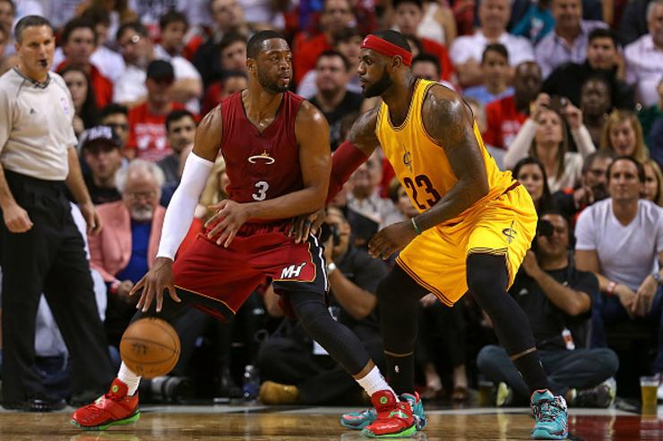 Dwyane Wade x LeBron James