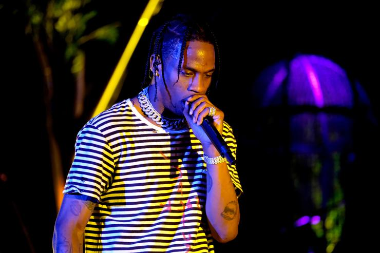 Travis Scott performs at 2017 Coachella