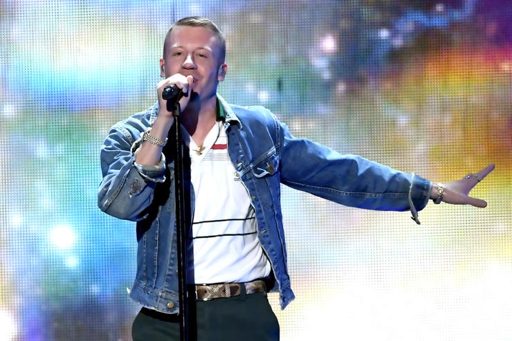 Macklemore at iHeart Radio Fest