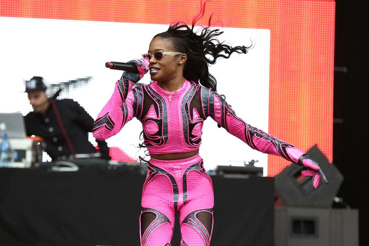 Azealia on stage