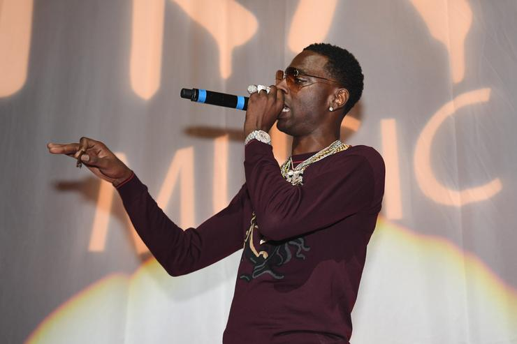Young Dolph performing 2017