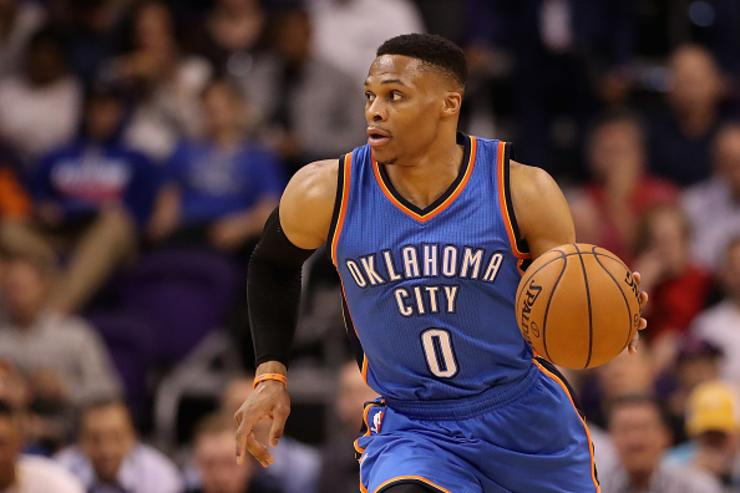 Russell Westbrook signed his extension on Kevin Durant's birthday