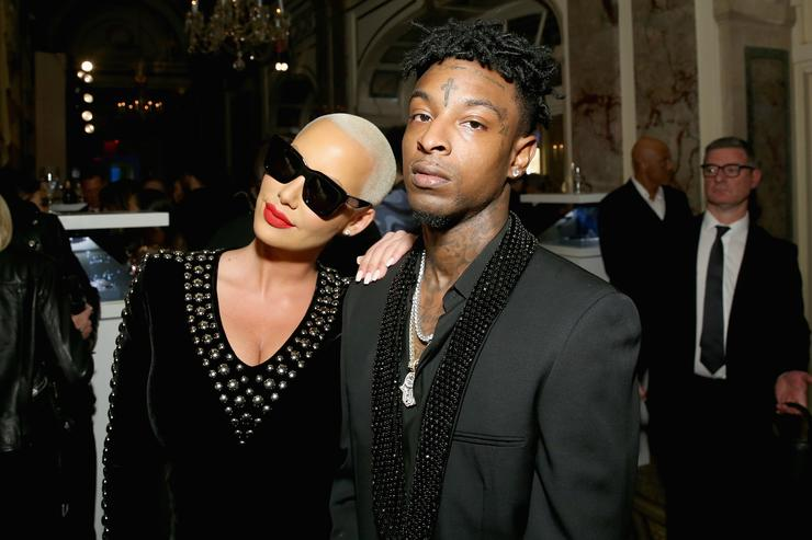 03e3e2c8aca 21 Savage   Amber Rose s Most In-Love Instagram Moments
