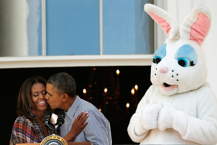 President And Mrs Obama Host Annual White House Easter Egg Roll